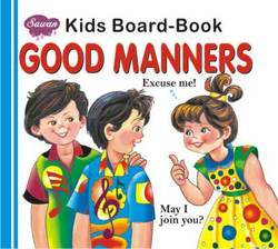 Kids Board Book Good Manners
