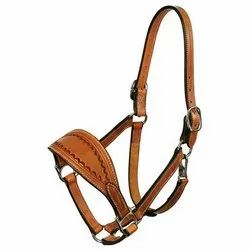 Leather Halter with Comfort Noseband