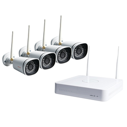 Foscam FN-3104W-B4-1t 720p HD WIFI NVR Security System