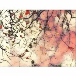 Printed Glass Paintings, Size: H 18 X W 24 Inch