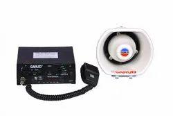 80w Digital Public Addressing System (EMG)