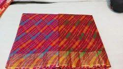 Kota Doria Zari Lining Traditional Leheria Cotton Kota Saree
