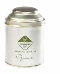 Darjeeling Organic Green Tea Tin 100gm