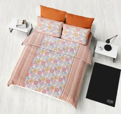 Floral Printed Designer Cotton Bed Sheet