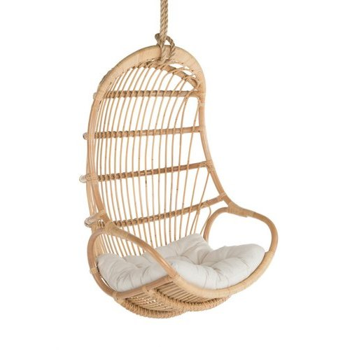 Beige Modern Hanging Cane Swing Chair Seating Capacity 1 Seater Rs 12000 Unit Id 21636501691