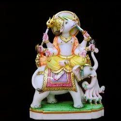 Marble Lord Varaha Statue