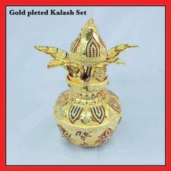 Gold Plated Kalash Set