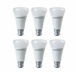 Crompton 5 Star Rated LED Bulb 6w, Base Type: B22