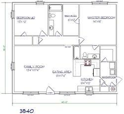 2D Drafting Work And Floor Plan - Conversion From Hand Sketch To Cad Drawing