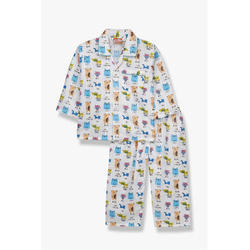 Cotton Printed Boy Night Suit