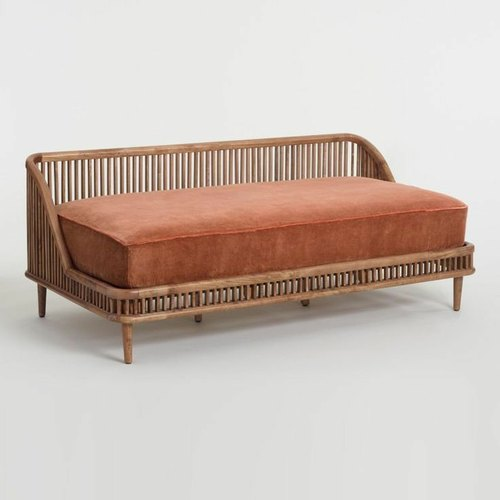 Customit Wooden Mid Century Modern Sofa, Mid Century Modern Furniture