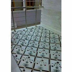 Designer Marble Inlay Flooring Service