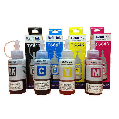 Cartridge Refill Ink, Packaging Type: Box