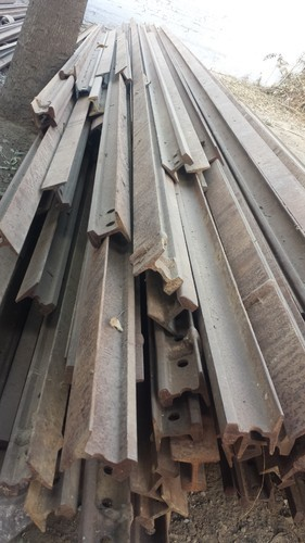Flanged 60 Lbs Used Rail Track 60 Pound Rail Track Rs
