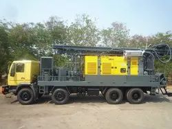 Truck Mounted DTH Cum Rotary Drilling Rig Only  Mounting