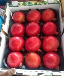 A Grade Bhagwa Fresh Pomegranate, Packaging Type: Carton, Packaging Size: 2.5 kg