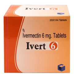 Ivert-6 Ivermectin 6mg Tablets