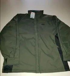 Full Sleeves Plain Winter Jacket Reversible