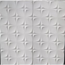 Ceramic White Elevation Wall Tiles, Thickness: 5-10 mm