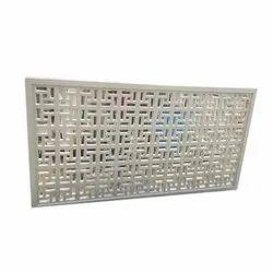 Rectangular Decorative GRC Jali