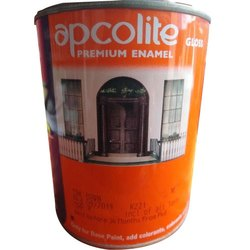 Asian Paints High Gloss 5 Litre Apcolite Premium Enamel, For Interior, Packaging Type: Tin