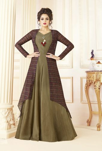 2ecda28509 PR Fashion New Designer Indo-Western Dress, महिलाओं की ...