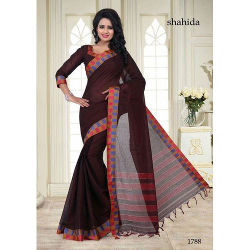 a219ce3b0 Suhana Sarees Party Wear Ladies Cotton Saree