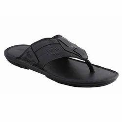 Raysfield Daily wear Mens Black PVC Slipper, Size: 6-10