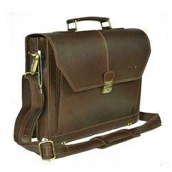 Men Buffalo Leather Bag