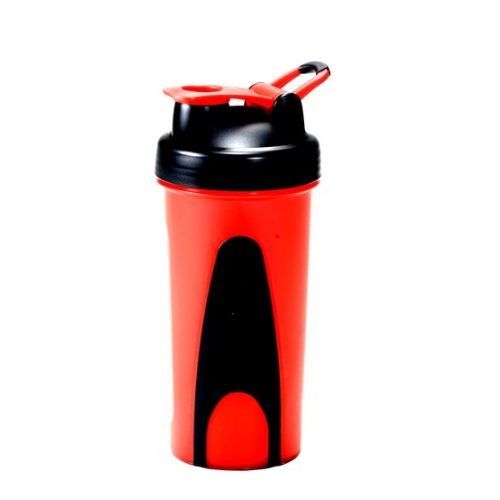 I Shake Red And Black Ronnie Shaker Bottle, Packaging Type: Carton Package