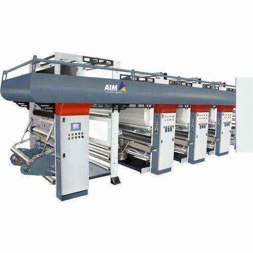 Hi-Speed Rotogravure Printing Machine