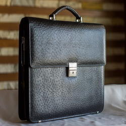 Black Plain Executive Office Bag