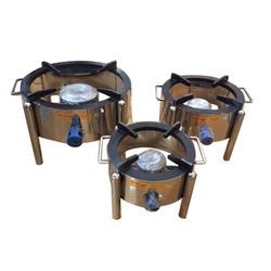 Round Gas Burner Stove