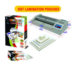 Kenstar Hot Lamination Pouches, Packaging Type: Wrapper