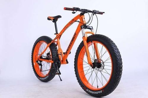 Gapuchee Orange 26 Size Fat Tyre Cycle