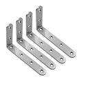 Stainless Steel L Type Wall Brackets
