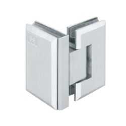 Beveled Heavy Shower Hinges