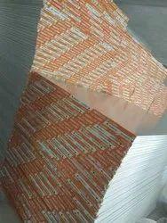 Heat Block gypsum board with aluminum foil