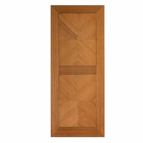 Brown Melamine Board Interior Door Skin Size L 81 X W 32