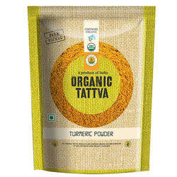 Organic Tattva Organic Turmeric Powder, Packaging: Packet