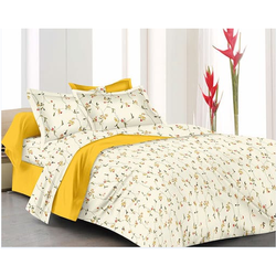 Printed Fancy Double Bed Sheet