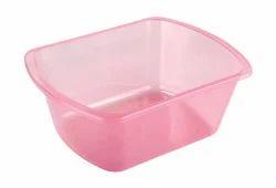 Sponge Plastic Tub