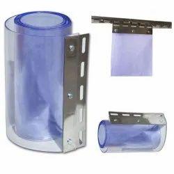 Transparent Freezer PVC Strip Curtain, Thickness: 2 mm