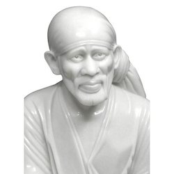 Marble Shree Sai Baba Statue