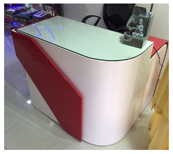 Cash Desk Counter Cash Counter Table Latest Price