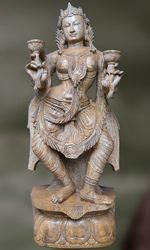 Decorative Woman Apsara Statue