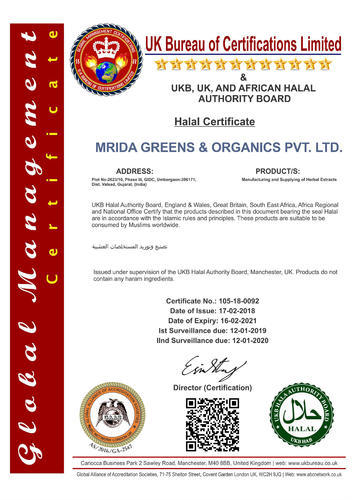 Halal Certification Services Halal Certification Services Empire