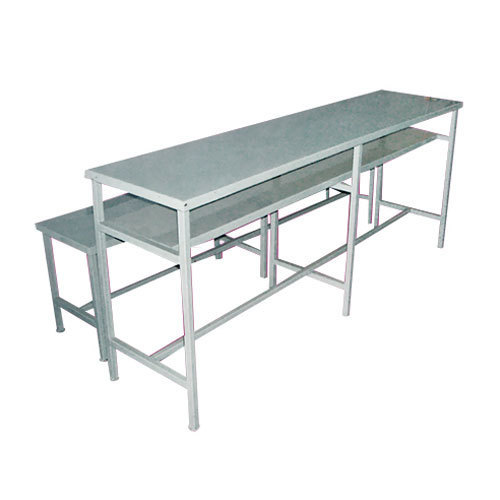 Silver Stainless Steel Ss School Benches And Desks Rs 8750 Set