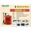 Sukhoi-18 Hand Cum Battery Powered Knapsack Sprayer