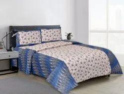 Designer Bedsheet Double Bed Cotton